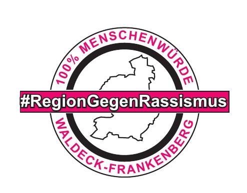 Logo Region Gegen Rassismus WaFkb