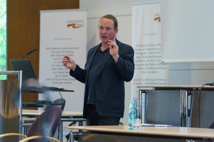 Markus Möller von Mehr Demokratie e.V.