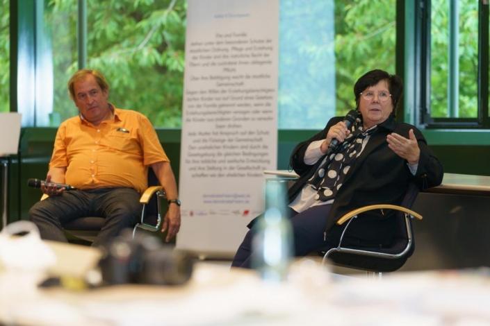 Herr Dr. Römer und Frau Jesinghausen sprechen sich für ehrliche Bürgerbeteiligung aus