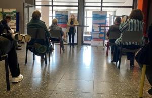 Dr. Marion Lilienthal eröffnet die Ausstellung
